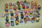 HUGE Lot OF Assorted Fisher Price Little People