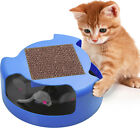 Cat Kitten Interactive Mouse Play Toy with Scratching Post Kitty Exercise Toys