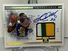 PANINI IMPECCABLE BASKETBALL AUTO JERSEY CARD KARL MALONE SUPER SHORT PRINT #2 5