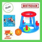 Inflatable Swimming Pool Float Game Center w BallRings For Children Adults