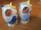 Vintage Salt  Pepper Shakers Birds 2 1 2 by 1 1 2 Marked Germany In Red