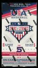 2018 PANINI USA STARS AND STRIPES BASEBALL HOBBY BOX FACTORY SEALED NEW