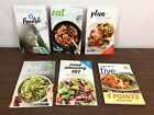WEIGHT WATCHERS Lot 6 Assorted Cookbook Booklets Freestyle Meal Prep Planning