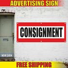 Consignment Advertising Banner Vinyl Mesh Decal Sign Shop Store Many Sizes Free