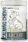 Calming Chews for Dogs Cats Soft Natural Healthy Pet Food Supplement