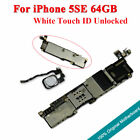 Original Motherboard Touch ID Unlock Main Logic Board For iPhone 5SE White 64GB