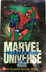 1992 Impel Skybox Marvel Universe Series III 3 Factory Sealed Wax Pack Box