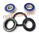 FRONT AXLE WHEEL BEARING SEAL KIT HONDA 1979 1980 1981 CM400T TACH CM400 400T