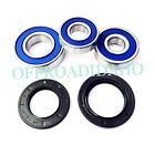 REAR AXLE WHEEL BEARING SEAL KIT KAWASAKI EX500 NINJA 500 2004 05 06 07 08 2009