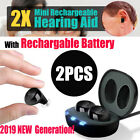 Rechargeable Hearing Aids In the Ear Amplifier Assist Mini Set 2019 Generation