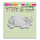 HOUSE MOUSE RUBBER STAMPS CLING BUBBLE POPPER NEW cling STAMP