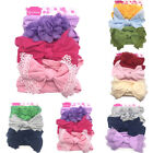 Cute Kids Girl Baby Headband Infant Newborn Flower Bow Hair Band Accessories US