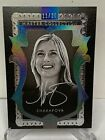 2016 MASTER COLLECTION GREATS MARIA SHARAPOVA TENNIS AUTO CARD CLEAR #11 20