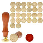 Letters A Z Alphabet Initial Wax Seal Stamp Sealing Envelope Invitations US AY
