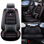 13pc Deluxe Car Seat Cover Full Set Cushion Protector Rear Split Bench Seat