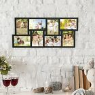 Collage Picture Frame Holds 8 Images 4 X 6 Vertical or Horizontal Wall Hanging