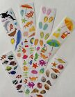 Mrs Grossmans Stickers BEACH Lot HUGE Summer FUN Ocean Related FREE SHIP