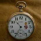 VINTAGE 1917 WALTHAM EQUITY with a Painted Face Housed in a STAR WCC USA