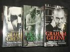 SIGNED The Life of Graham Greene by Norman Sherry 1989 2004 1st Biography HB