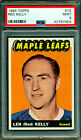 1965 66 TOPPS #15 RED KELLY PSA 9 MINT