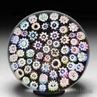 John Deacons close packed millefiori glass paperweight