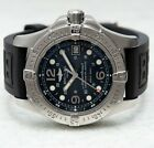 Breitling Superocean Steelfish X-Plus Black Dial Automatic Rubber Strap A17390