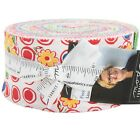 Feed Sacks Red Rover Jelly Roll by Linzee Kull McCray for Moda Fabrics