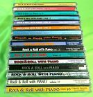 Lot of 16 ROCK & ROLL with PIANO CD's Collectors Records Rare 45 Compilations