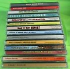 Lot of 14 Early Rock & Roll Rockers Boppers CDs:  Rare 45 CD Compilations