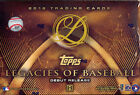 2016 TOPPS LEGACIES OF BASEBALL HOBBY BOX FACTORY SEALED NEW