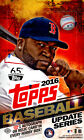 2016 TOPPS UPDATE SERIES BASEBALL HOBBY BOX FACTORY SEALED NEW