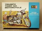 TRIUMPH TIGER 100 MOTORCYCLE 1/8 Scale, Revell H-1231-300, 1st Issue, UNBUILT