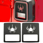 Tail Light Cover Guard Spider Style Accessories Fits Jeep Wrangler JL 2018 T1