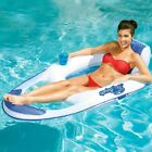 Spring Float Mesh Recliner Floating Swimming Pool Water Lounge Chair Outdoor New