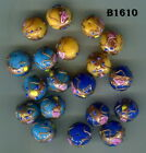 Vtg Moretti Wedding Cake Fiorato Beads Venice Murano Art Glass Lampwork B1610