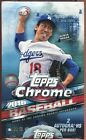 2016 TOPPS CHROME BASEBALL SEALED HOBBY BOX auto rc sp first pitch futures stars