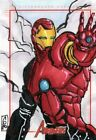 Marvels Greatest Heroes 2012 Color Sketch Card by Chris Gutierrez - Iron Man