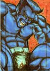 Marvels Greatest Heroes 2012 Color Sketch Card by Artist Unknown - Beast