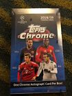 2018-19 Topps Chrome UEFA Champions League Soccer Hobby Box