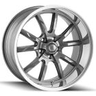 Staggered Ridler 650 Front18x8Rear18x95 5x475 +0mm Gunmetal Wheels Rims