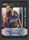 Derrick Williams Signs with Panini 15