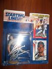 Kevin Brown Signed Autographed 1993 NBA  Starting Lineup, Texas Rangers