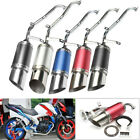Scooter Short Performance Exhaust System For GY6 150cc 4 Stroke Scooter Parts US