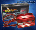 Red Aluminum Battery Hyper Voltage Stabilizer Hp Gain For 240Sx 200Sx 180Sx S13