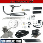 50cc 2 Stroke Motor Engine Kit Gas for Motorized Bicycle Bike Sliver Upgraded US