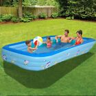 117x685x216in Inflatable Kids Family Swimming Pool Backyard Outdoor Water Play