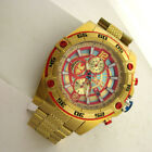 Marvel Comics Invicta 26799 Iron Man Chronograph SS Mens Heavy Watch $1295.00