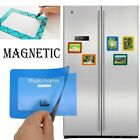 1 Pack Magnetic Picture Frame Refrigerator 5 Inch Photo Note Schedule Holder