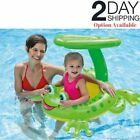 Baby Inflatable Float Swimming Pool Ring Infant Kids Toddler Water Seat Sunshade