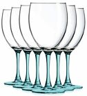 Nuance Accent Stem 10 oz Wine Glasses Set of 6 Additional Colors Available